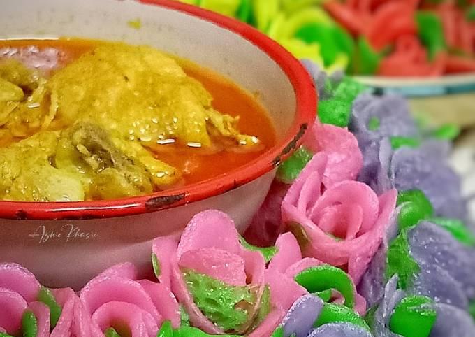 Roti Jala Rose