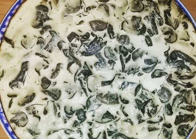 ♨️ Cheesecake revisité aux champignons de Paris ♨️