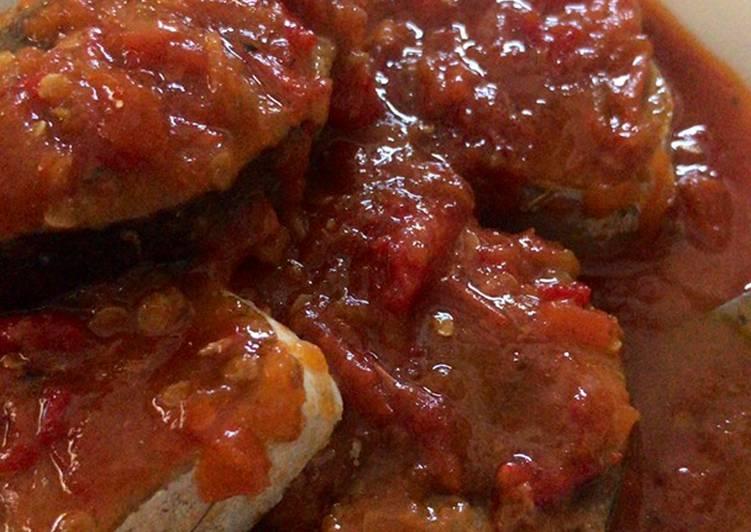 Ikan cakalang sambal