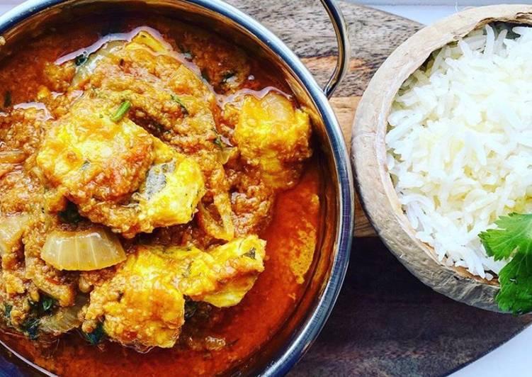 Goan Coconut Haddock Curry