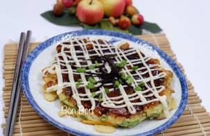 Bánh Xèo Kiểu Nhật Okonomiyaki