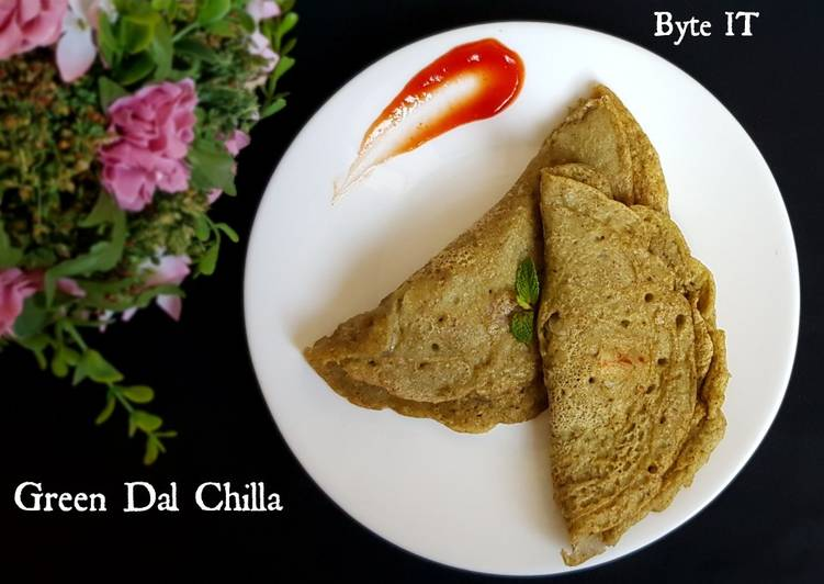 What are some Dinner Ideas Fall Green dal chilla