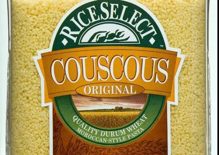 Spicy and Garlic Couscous