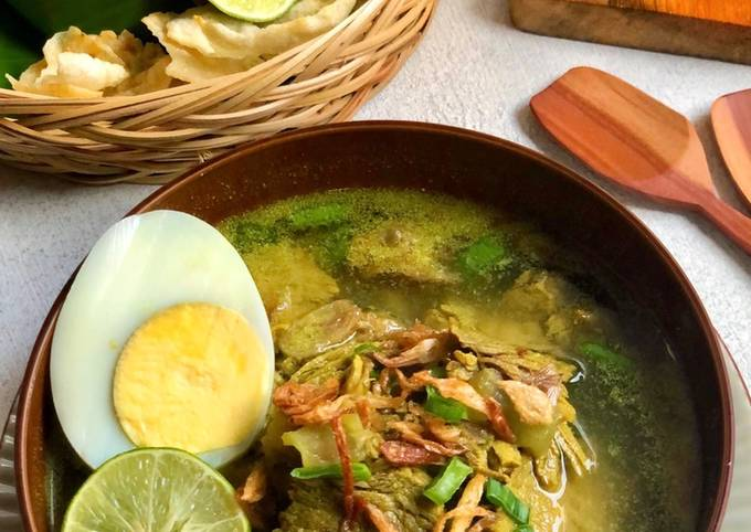 Soto Sulung Daging