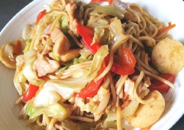 Easiest Way to Prepare Quick Chow Mein