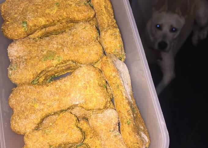 Recipe: Perfect Indian Spiced Dog Biscuit Treats