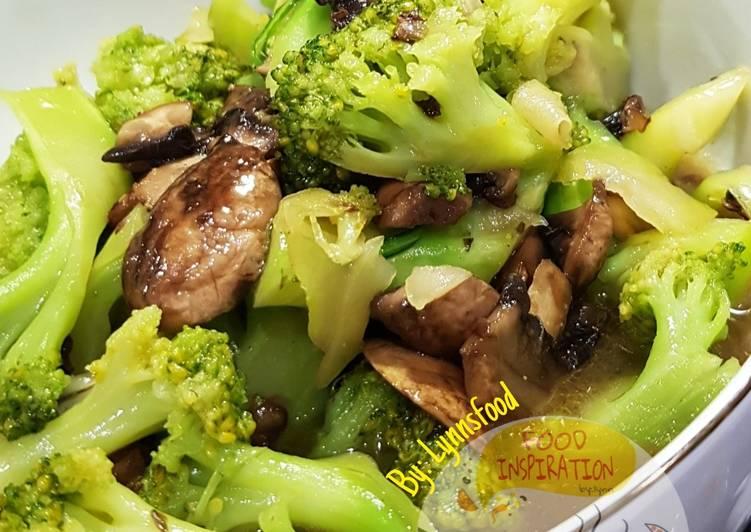Brokoli Jamur Ciapo