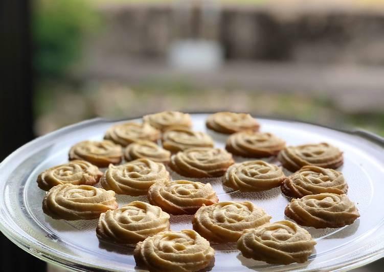 Butter cookies renyah dan mudah 😊