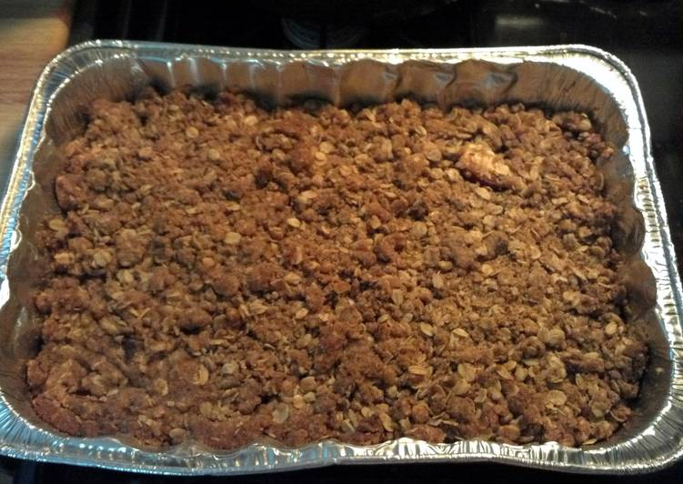 Recipe of Quick Betty Crocker's Apple Crisp Tweaked