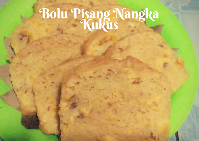 Bolu Pisang Nangka Kukus (No mixer)