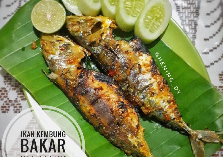 Cara Gampang Membuat Ikan Kembung Bakar (Ala RM Padang) yang Enak Banget