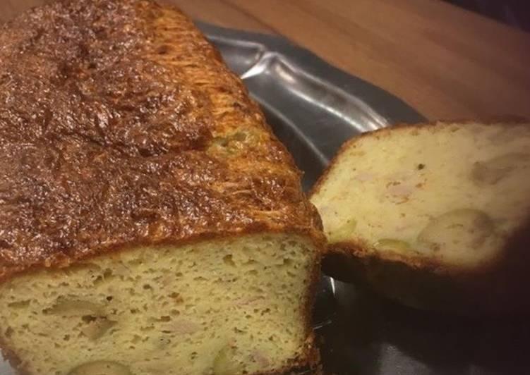 recette Cake au thon et aux olives Le plus simple