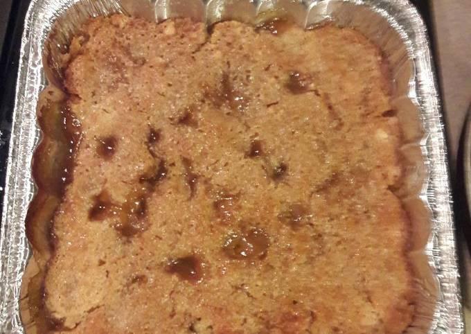 Recipe of Perfect Nikki's peach cobbler