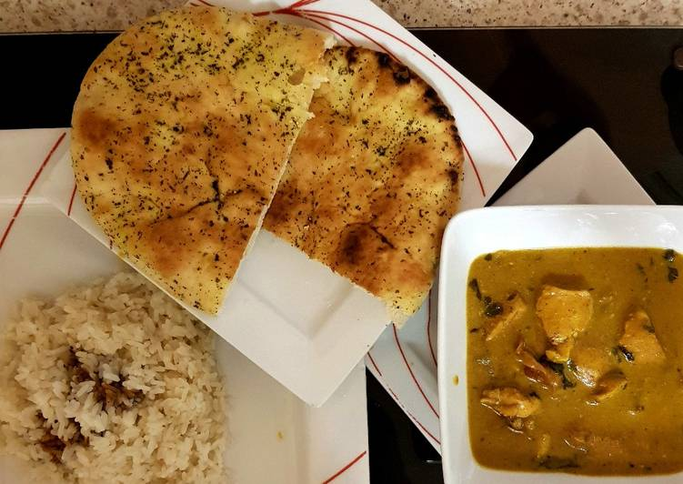 My part Indian and part my recipe curry Finding Healthy Fast Food