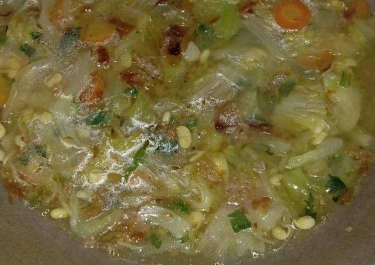 Sayur sop bening seger