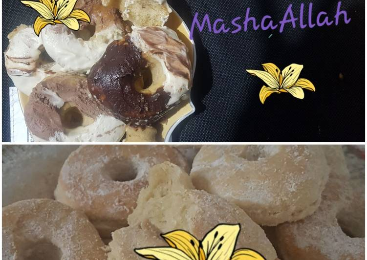 Steps to Make Super Quick Homemade Toppings for desserts e.g. donuts (illustrations and notes)