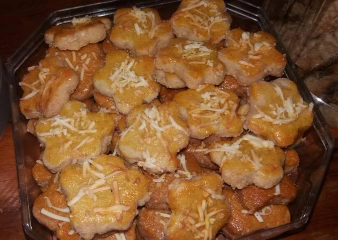 Resep Kue kacang keju Anti Gagal