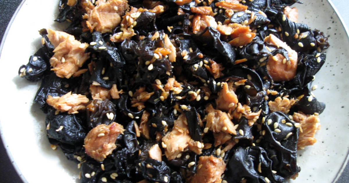 Black Fungus & Tuna 'Tsukudani' Recipe by Hiroko Liston - Cookpad