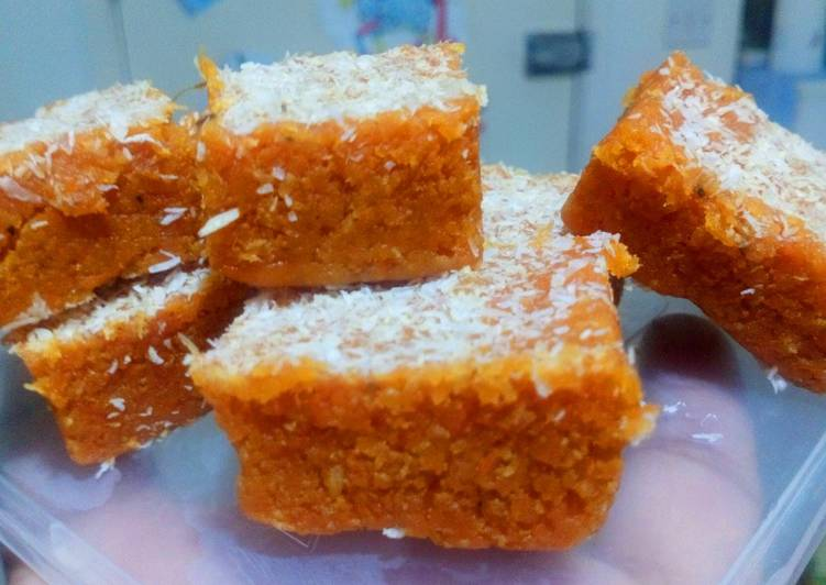 Simple Way to Prepare Ultimate Sweet potato burfi