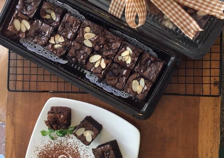 Fudgy Choco Brownies