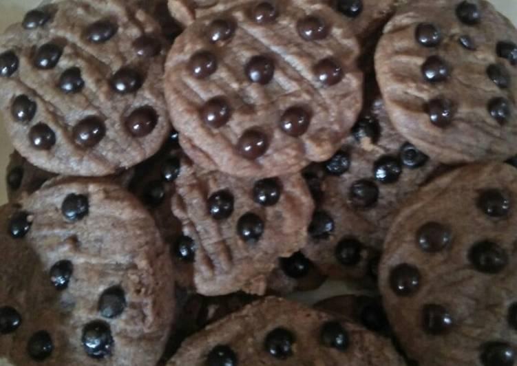 28. Cookies Chocochip Coklat Simpel