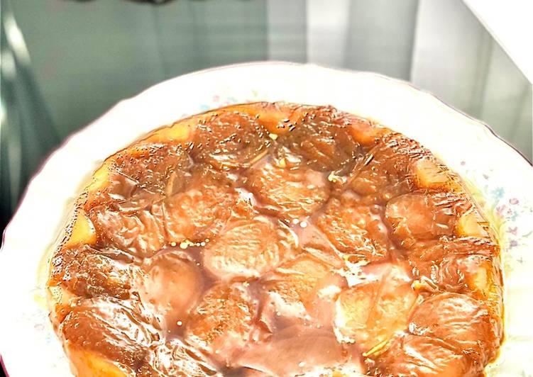 Façon la plus simple Faire Savoureux Tarte tatin aux abricots