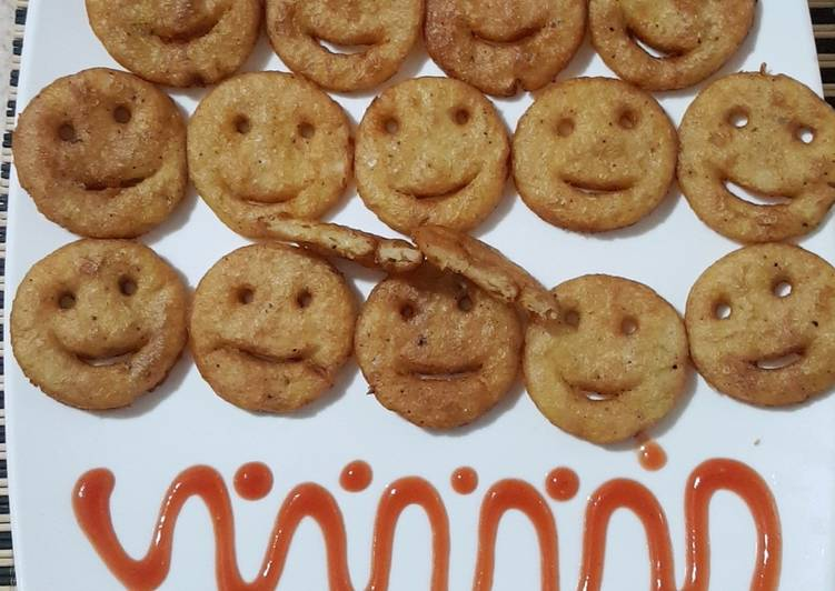 Try Using Food to Improve Your Mood Smiley Patato