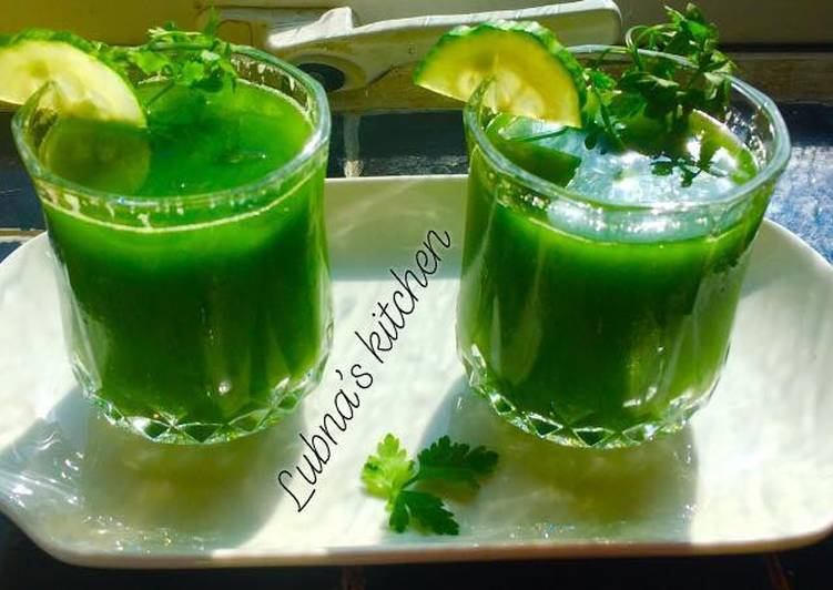 How to Prepare Ultimate Green juice 🌱💚