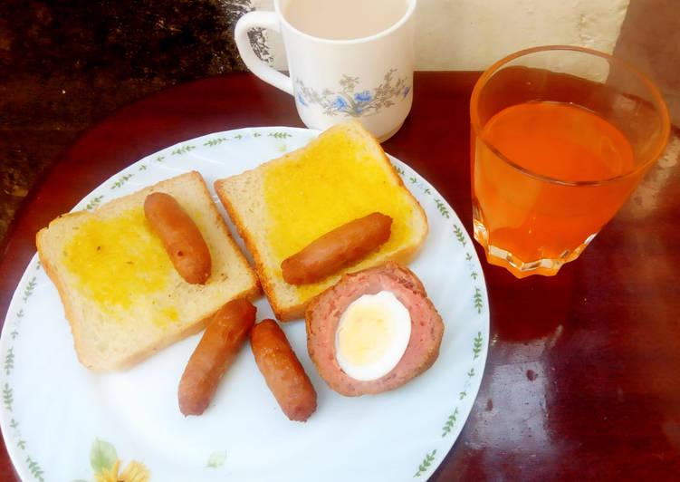 American breakfast #4weeksChallenge