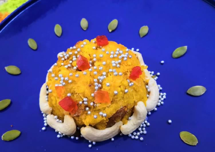Recipe of Speedy Pumpkin Halwa Kashi Halwa