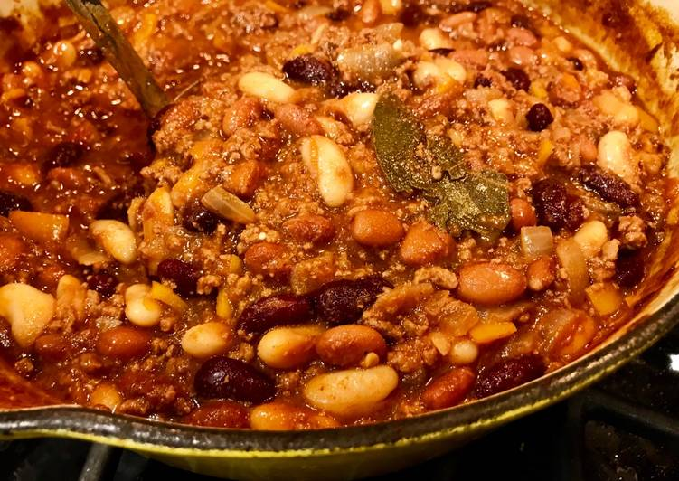 Easiest Way to Cook Perfect Three Bean Chili