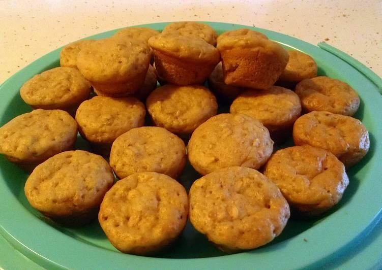 oatmeal yogurt  muffins