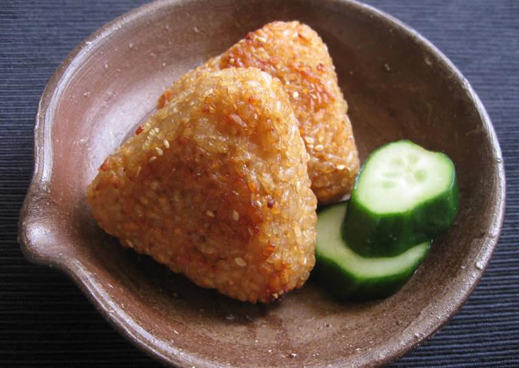 Grilled 'Onigiri'