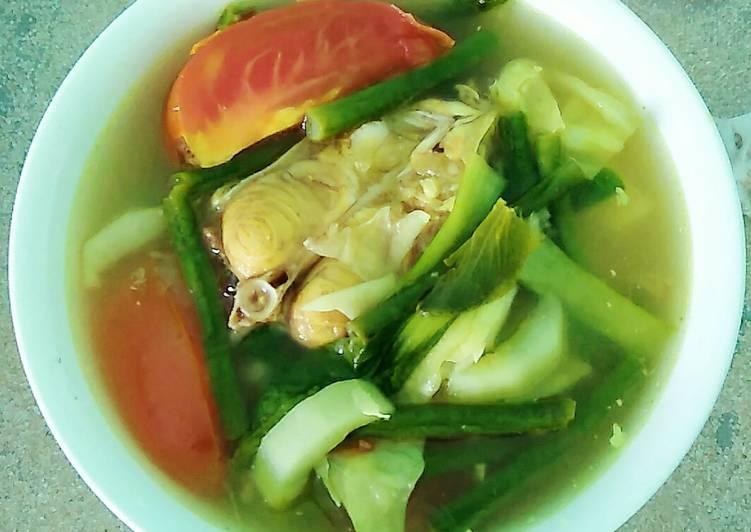 Sayur Asam Patin (sayur asam banjar)