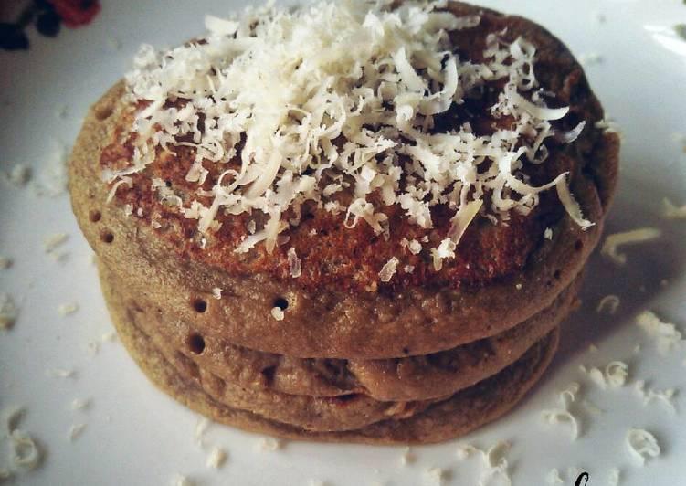 Banana Oat Pancake (camilan 1y+)