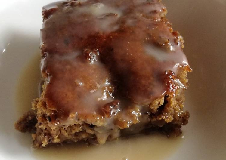 Recipe of Top-Rated Vegan sticky toffee pudding