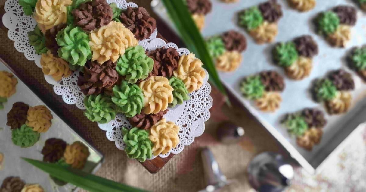 Resep Kue Semprit Matcha