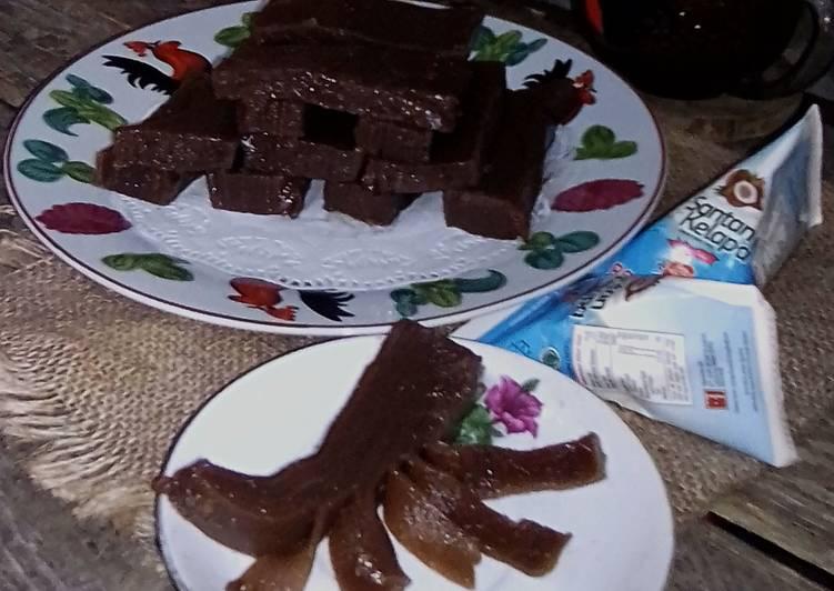 Kue Lapis Wrn COKLAT Aja GLUTEN FREE(Tepung Maizena n Tapioka)