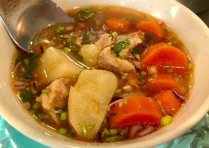 Basic Meat & Veg Soup You Can Riff On