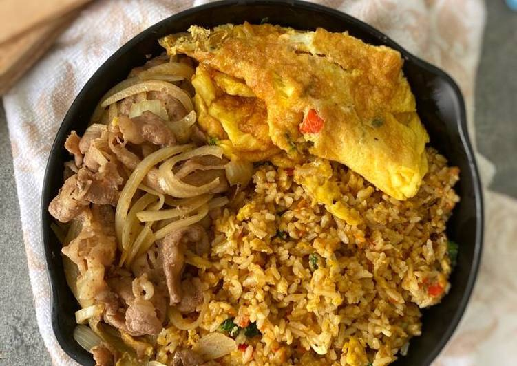 Resep Nasi goreng korea simple Paling Mudah