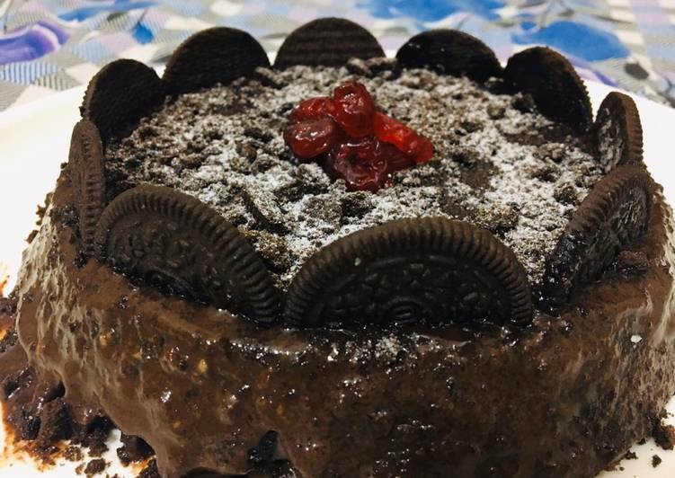 Orio biscuits cake