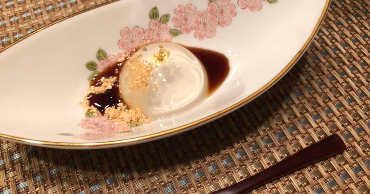 Japanese Raindrop Cake-Mizu Shingen Mochi- Recipe by KA - Cookpad