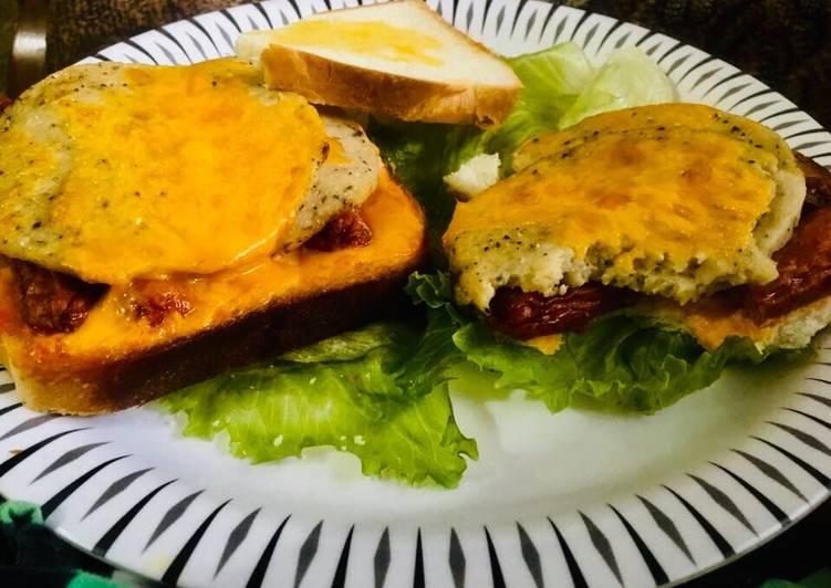 Recipe of Super Quick Homemade Open sandwich