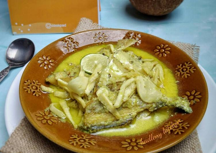 Gulai Ikan & Rebung Asam Khas Bengkulu (tanpa cabe)