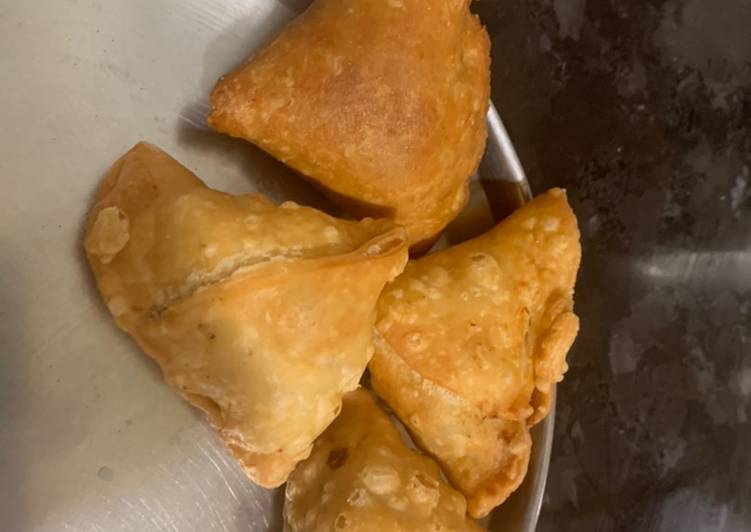 5 Minute Recipe of Award Winning Samosa-aloo samosa