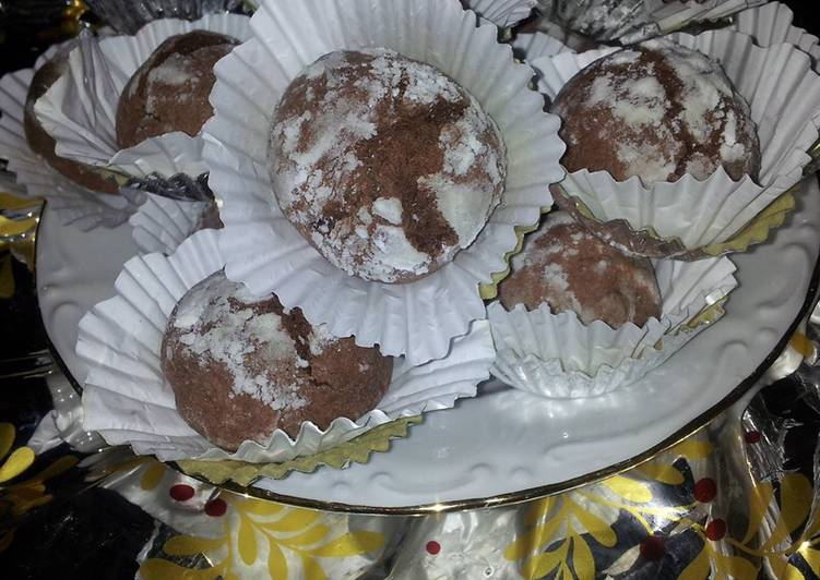 Recette Des Boulettes au cacao 💩