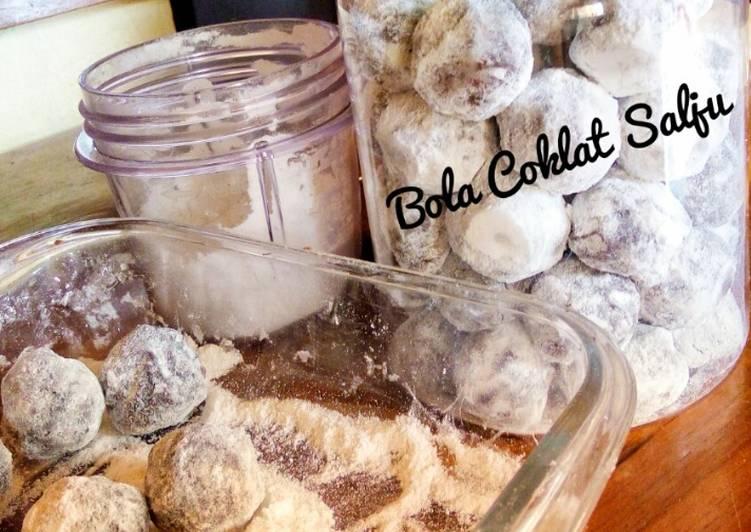 Bola-bola Coklat Salju. Cookies murah anti ribet. (Dapur Mak Bee)