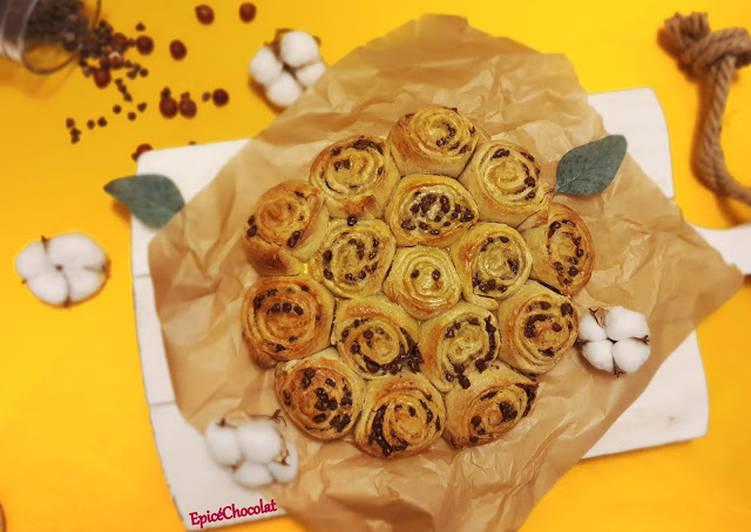 Le moyen le plus simple de Préparer Appétissante Brioche a la poire et chocolat