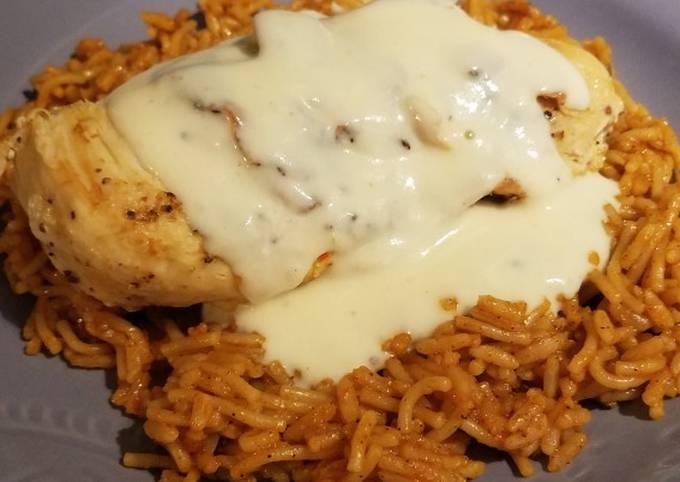 Mexi Queso Chicken & Rice