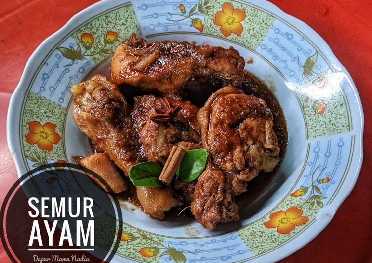 Cara Gampang Membuat Semur Ayam kecap yang Lezat